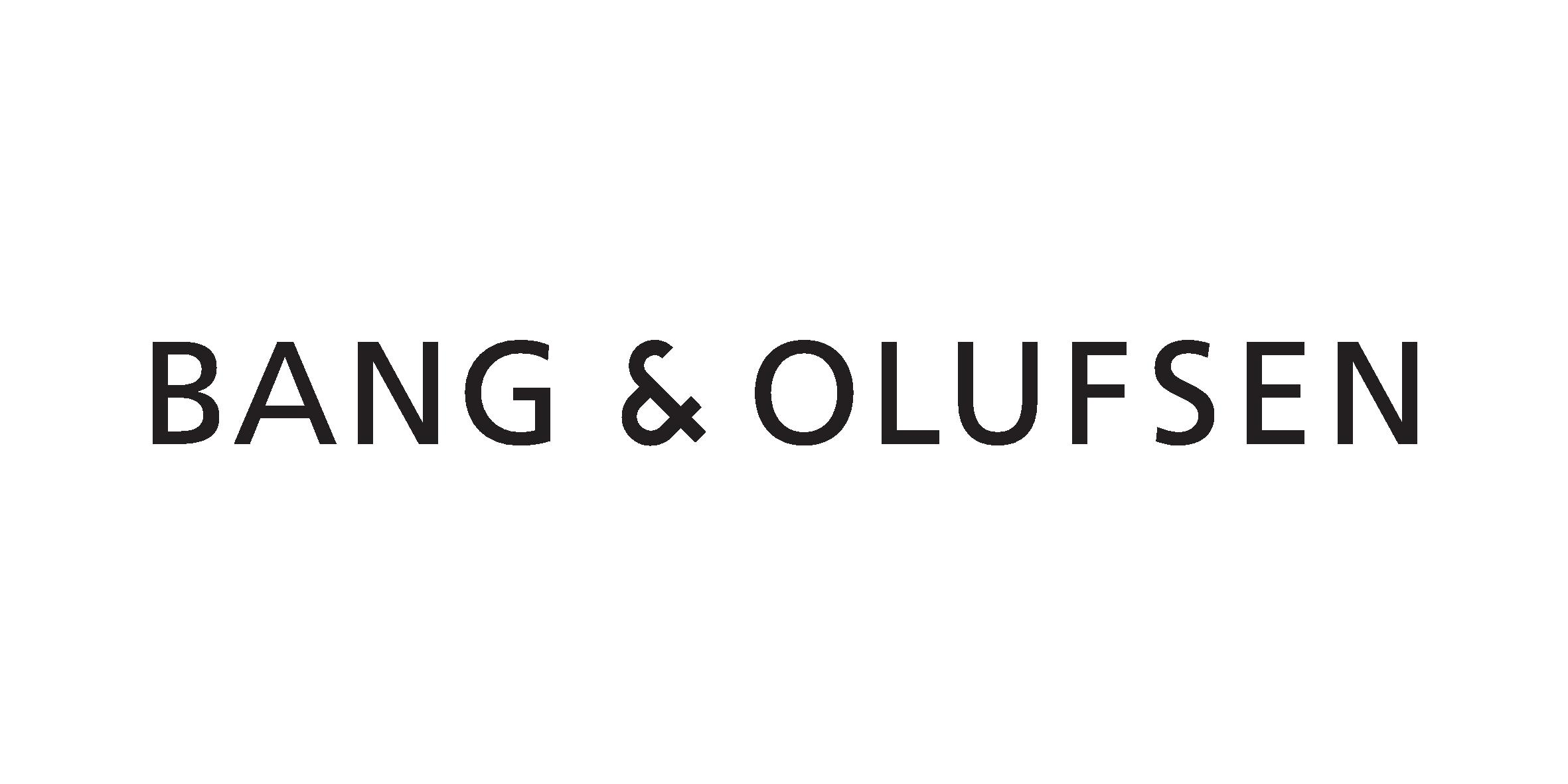 BANG & OLUFSEN Logo - Black